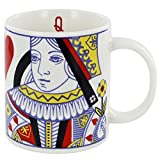 Queen of Hearts Bone China Mug