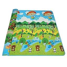 Arshiner Baby Kid Toddler Play Crawl Mat Carpet Playmat Foam Blanket Rug for In/Out Doors(US STOCK)