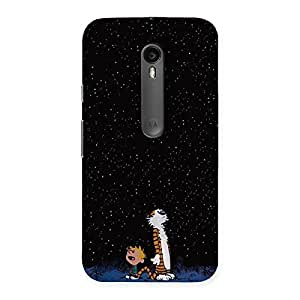 Gorgeous Counting Stars Multicolor Back Case Cover for Moto G Turbo
