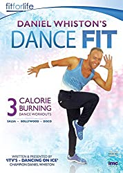 Daniel Whiston's (ITV's Dancing on Ice Champion) Dance Fit - 3 Calorie Burning Dance Workouts - Bollywood, Disco and Salsa [DVD]
