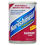 Dunns River Nurishment Original Big Can Raspberry Flavour 12 x 400gram