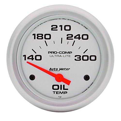 Auto Meter 4447 Ultra-Lite Electric Oil Temperature Gauge (Auto Meter Oil Temperature Gauge compare prices)