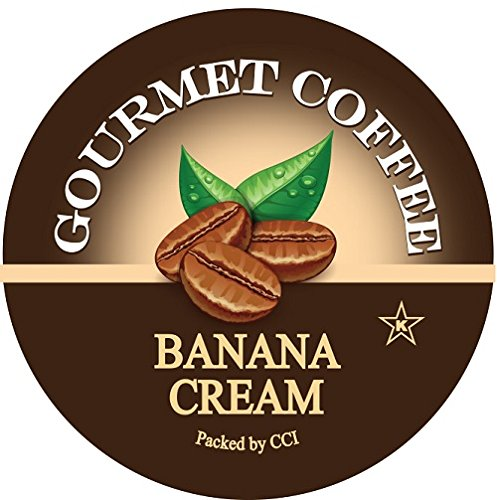 Smart Sips, Banana Cream Coffee, 24 Count for Keurig K-Cup Brewers (Cream Nut compare prices)