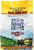 Natural Balance Limited Ingredient Diets Potato & Duck Formula Small Breed Bites Dry Dog Food - 4.5 lb, Pack of 1