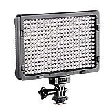 LED PT-308 Dimmable Ultra High Power Panel Digital Camera / Camcorder Video Light, LED Light for Canon, Nikon, Pentax, Panasonic,SONY, Samsung and Olympus Digital SLR Cameras