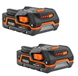 Ridgid ZRR840085 Hyper Lithium Ion Battery (2 Pack) Certified Refurbished