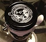 Disney Park Mickey Mouse Writeable Ceramic Honey Pot Jar Canister with Spoon