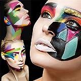 Ayliss® Visage Peinture à Huile Multi-Couleurs Halloween Maquillage Corporel Déguisement Enfants Carnaval (Colour-A)