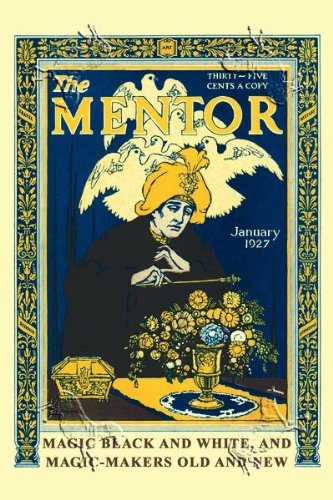 Art Poster, The Mentor - 12x18