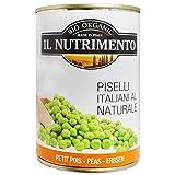 Il Nutrimento Piselli Italiani Al Naturale Biologici 340g