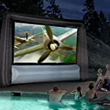 Gemmy 44743 Airblown 10 ft. Inflatable Widescreen Movie Screen