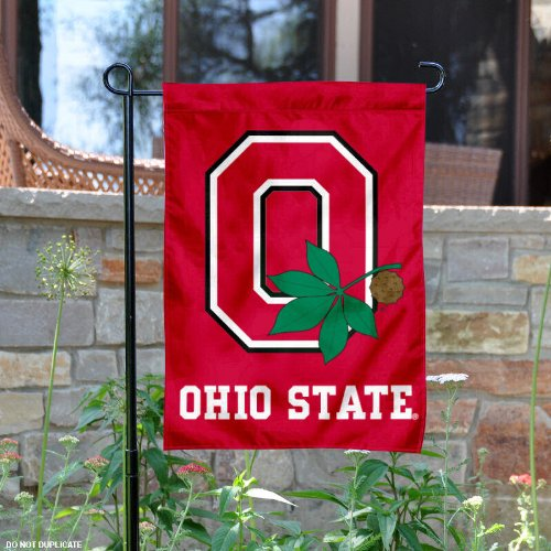 OSU Buckeyes Ohio State Garden Flag and Yard
