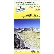 MAPA EXCURSIONISTA-CARTA DE RANDONNÉES ANETO-POSETS: Aneto/Posets/Maladeta No. 23 (INST.CARTOGRÀFIC CATALUNYA)...
