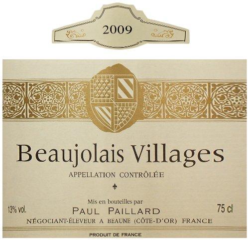 2009 Paul Paillard Beaujolais Villages 750 Ml