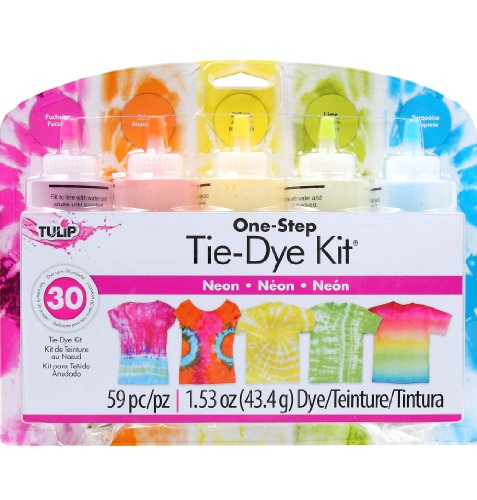 Tulip One-Step 5 Color Tie-Dye Kits Neon front-872536