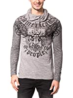 AMERICAN PEOPLE Camiseta Manga Larga Epic (Gris)