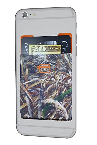 CardNinja Ultra-slim Self Adhesive Credit Card Wallet for Smartphones, RealTree Max5