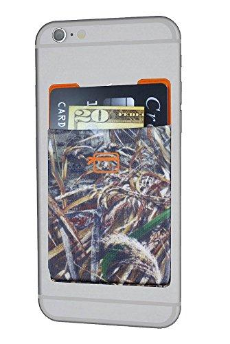 CardNinja Ultra-slim Self Adhesive Credit Card Wallet for Smartphones, RealTree Max5