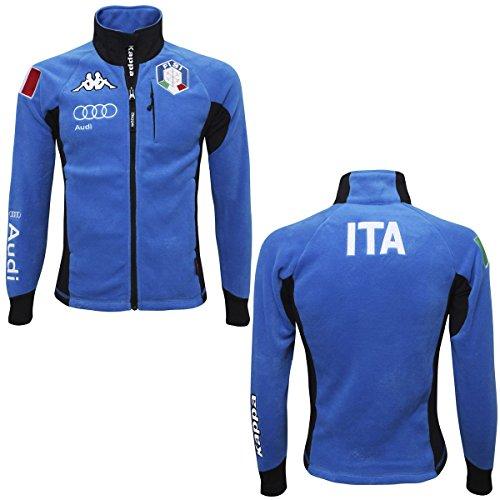 kappa-6cento-687-fisi-felpa-in-pile-uomo-federazione-italiana-di-sci-azzurro-italia-m