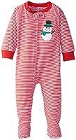 Sara's Prints Baby Girls' Footed Pajama