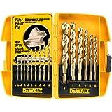 DEWALT DW1956 Pilot Point 16-Piece Twist Drill Bit Assortment