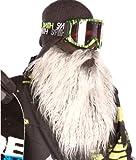Beardski Biker Máscara de esquí, máscara de snowboard. Protección de la cara, barba falsa, pasamontañas