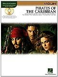 PIRATES OF THE CARIBBEAN FOR VIOLIN INSTRUMENTAL PLAY-    ALONG BK/CD (Hal Leonard Instrumental Play-Along)