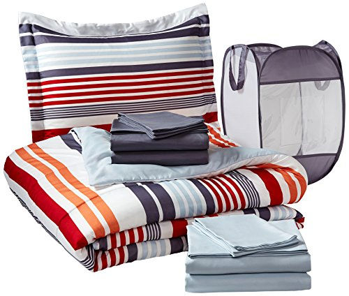 Pinzon 9-Piece Bed In A Bag With Hamper - Twin/Twin X-Large, Dylan