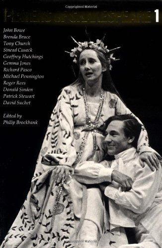 Players of Shakespeare 1: Essays in Shakespearean Performance by Twelve Players with the Royal Shakespeare Company