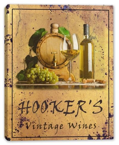 hookers-family-name-vintage-wines-stretched-canvas-print-16-x-20