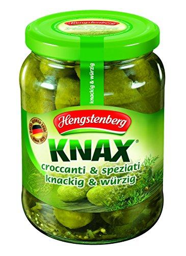 Hengstenberg Knax Gewürzgurken 720ml (Knax Pickles compare prices)