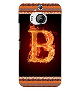 PrintDhaba GRANDbet B D-2528 Back Case Cover for HTC ONE M9 PLUS (Multi-Coloured)
