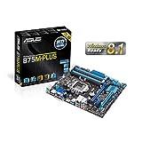 ASUSTeK Intel B75搭載 マザーボード LGA1155対応 B75M-PLUS【MATX】
