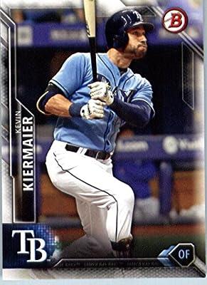2016 Bowman #86 Kevin Kiermaier Tampa Bay Rays Baseball Card
