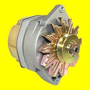 105 Amp Delco Marine Alternator Mercruiser 1-Wire with Tachometer Wire included