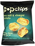 Popchips Sea Salt & Vinegar Potato Chip (24x.8 Oz)