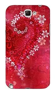 Aurmen Back Cover for Samsung Galaxy Note 2 (Multicolor, Samsung Galaxy No_3816)