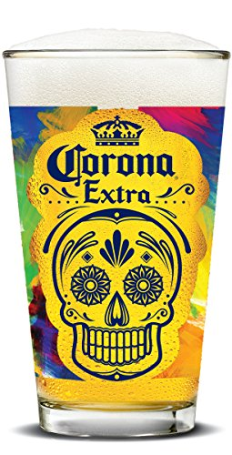 corona-extra-day-of-the-dead-painted-pubs-set-of-4