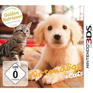 Nintendogs + cats Golden Retriever & ses nouveaux amis (Nintendo 3DS)