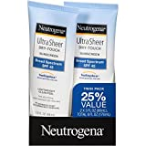 Neutrogena Ultra Sheer Dry-Touch Sunscreen Broad Spectrum...