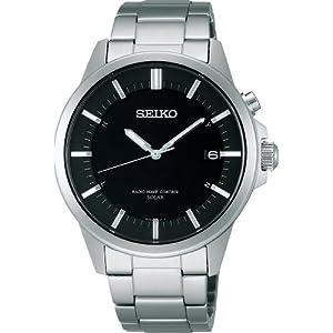 7bbb58254a SEIKO☆腕時計☆♪SPIRIT スピリット SMARTシリーズ ソーラー電波時計 SBTM127 メンズ