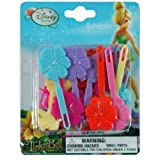 Disney Fairies Tinkerbell 30 Large Plastic Hair Barrettes