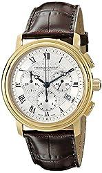 Frederique Constant Men's FC-292MC4P5 Classics Analog Display Quartz Brown Watch