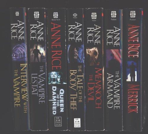 Anne Rice 7 Book Set