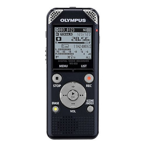 Olympus 8 Gb Digital Voice Recorder With Micro Sd Card Slot And Fm Capabilities