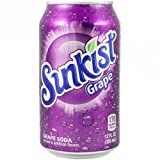 Sunkist Grape 12 OZ (355ml) - 24 Cans