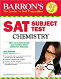 img - for by Joseph A. Mascetta M.A. Barron's SAT Subject Test Chemistry(text only)10th (Tenth) edition[Paperback]2010 book / textbook / text book