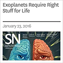 Exoplanets Require Right Stuff for Life Other by Thomas Sumner Narrated by Jamie Renell