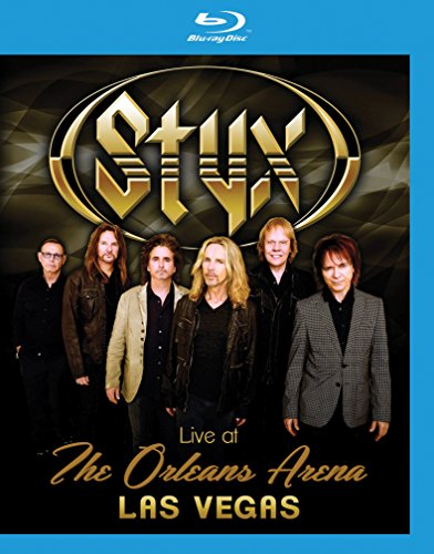 Blu-ray : Styx - Styx: Live at the Orleans Arena Las Vegas (Blu-ray)