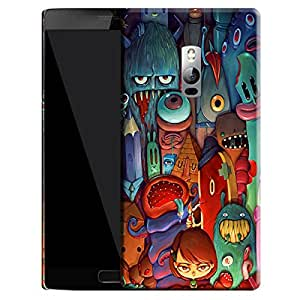 Theskinmantra Mysterious Little Girl back cover for OnePlus 2